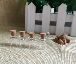 Wholesale miniatures glass bottles online shopping - Free DHL ML Clear Glass Bottles with Corks Miniature Glass Bottle with Cork Empty Sample Jars Message Weddings Wish Jewelry