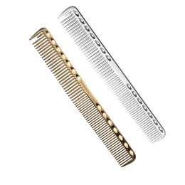 $enCountryForm.capitalKeyWord NZ - High Level Space Aluminum Metal Hairdressing Comb,Professional Barbers Hair Cutting Comb,Use For Cutting Long Hair And Short Hair