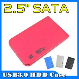 "hd external hard drive 2019 - Wholesale- Fashion Portable Usb 3.0 to SATA 2.5"" External HD Hard Disk Drive Hdd Case Enclosure 2.5 inch for Laptop"