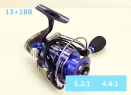 copper reel NZ - AS2000-7000 13+1BB Long shot fishing wheel copper rod gear transmission structure spinning fishing reels vessel pesca