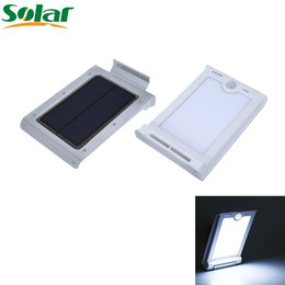 Wholesale Super Bright LED Outdoor Solar Lights Power Light With PIR Motion Sensor Security Waterproof Solar Lamp For Garden Street