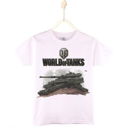 $enCountryForm.capitalKeyWord Canada - 2017 New Arrival Boys T-shirt World Of Tanks Cartoon 100% Cotton Children T Shirts Girls Tops Baby Tshirt Kids Clothing 4T-12T