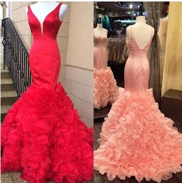 $enCountryForm.capitalKeyWord Canada - Reception dress prom for lovely people high quality and beautiful style V Neck bridal Gown With design Bottom