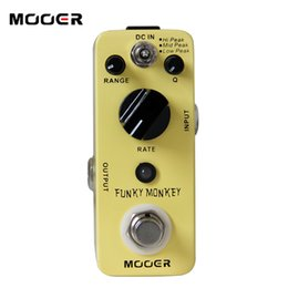 Mooer Pedals Australia - Mooer Funky Monkey Auto Wah Guitar Pedal True bypass Guitar effect pedal