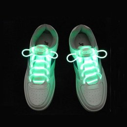 $enCountryForm.capitalKeyWord Australia - OPP BAG PACKING Light up Fashion LED Luminous Shoelaces Flash Party Glowing Shoe Strings for Boys and Girls ZA3743