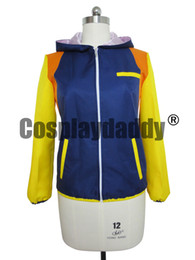 Barato Assassinato Dramático Aoba-Assassinato dramático DMMD Seragaki Aoba Cosplay Costumes Causal Coat Jacket Hoodie