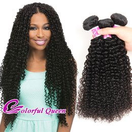 human hair weave 26inch NZ - Malaysian Curly Hair Bundles 3 Pcs Cheap Human Hair Weft Unprocessed Virgin Human Hair Weave Extensions Kinky Curly for Black Women 8-26Inch