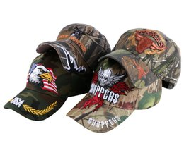 cap boy camouflage 2019 - Promotion Men Hip Hop Snapback Best Cool Novelty Hat Women Embroidery Skull Camouflage Style Girl Boys Brand Baseball Ca