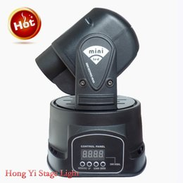 Discount moving heads lights price - led moving head gobo projector DMX 512 Gobo spot 15W led mini moving head light djlight disco light factory price