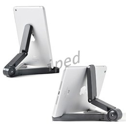 Wholesale Hot Sale Foldable Adjustable Stand Bracket Holder Mount For iPad ASUS Samsung Pad Tablet PC Tablet Smart phone Accessories Cheapest