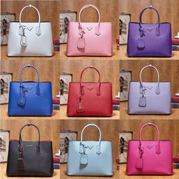 Promotional Nylon Bag Canada - Tuba size Tote women brand designer bag handbag genuine leather top quality famous luxury elegant cow skin discount promotional