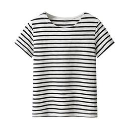 Black White Stripe Women Shirts Online | Black White Stripe Women ...