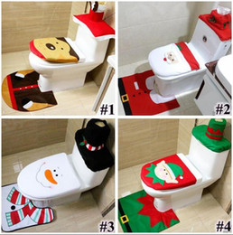 Christmas Toilet Seat Cover Rug Set Australia