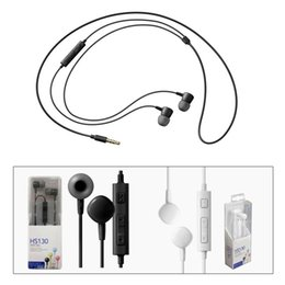 $enCountryForm.capitalKeyWord NZ - HS130 Headphone 3.5MM Stereo Music Earphone with Mic Earbuds for Samsung Galaxy Note7 S7 S6 Cell Phone COPY
