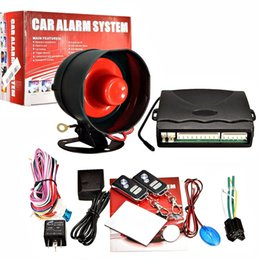 security alarm two Canada - One-Way Car Vehicle Alarm Security System Keyless Entry Siren +2 Remote M00110