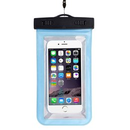 iphone 6s best prices Australia - Best Price Universal Waterproof Pouch For iPhone 6 6 Plus Cell Phones