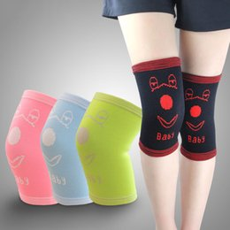 Elbow Supports Children Australia - Wholesale- Sport Knee Support 1 Pair Children Teen Basketball Football Dancing Skating Knee Protect Pads High Elastic Kneepad Safety Gurad