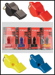 Wholesale Fox 40 Classic Official Whistle With Break Away Lanyard FOX 40 Football Soccer Basketball Whistle Referee FOX 40 Whistle B240S