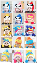 $enCountryForm.capitalKeyWord NZ - baby hats cute cat hat winter warm hat woolen cartoon bear animal knitted beanies toddler gifts 0-3 years old,15 colors to choose