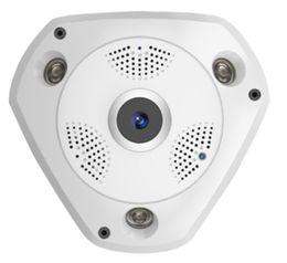 1080P 2MP 360degree рыбий глаз 3D VR панорамный P2P IR50M WIFI IP-камера поддержка макс.128 ГБ SD КАРТЫ