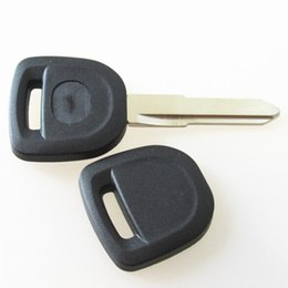 China Replacement transponder car remote key case Fob shell for Mazda 4D63 transponder key cover blank only shell 20pcs lot suppliers