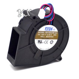 Chinese  AVC air blowers BA10033B12U 9CM 9733 97*94*33 DC 12V 2.4A centrifugal computer cpu cooling fans manufacturers
