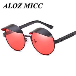 3a5cffe917 Discount steampunk eyeglass frames - Fashion Designer sunglasses women  Steampunk Sunshade Men Brand Retro Metal Round
