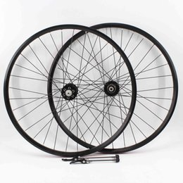 $enCountryForm.capitalKeyWord UK - SALE! New arrival 20 26 27.5 29er inch Mountain bike aluminum alloy bearing disc brake hubs bicycle clincher rim wheelset MTB Free shipping