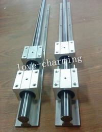 $enCountryForm.capitalKeyWord Canada - 20mm linear slide guide shaft SBR20-920mm 2 rail+4 SBR20UU bearing block CNC set