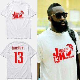 a97f93a62642 2017 new brand james harden jersey white cotton basketball men t shirt  Summer Style Short Sleeve fashion Tee shirt homme