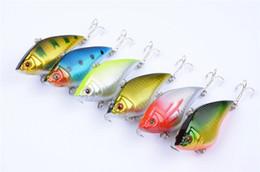 Walleye Lures Canada - Fly fishing VIB wobble baitfish lure 7cm 15.8g 6# hooks Freshwater crankbaits Walleye bass Artificial hard bait
