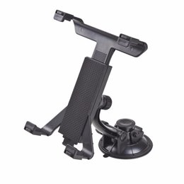 China Wholesale- New Universal PC GPS Car Windshield Back Seat Headrest Table Mount Tablet Holder For iPad 2 3 4 5 Tablet Stand Black Wholesale supplier car back seat headrest suppliers