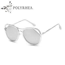 $enCountryForm.capitalKeyWord Canada - 2019 Luxury Sunglasses Large Frame Elegant Special Designer with Diamond Frame Built-In Circular Lens Sun Glasses High Quality UV400