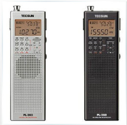 Sw Pack Australia - Wholesale-Tecsun PL360 fm Stereo Portable fm Radio built-in speaker DSP Radio LW MW SW All band digital demodulation stereo radio