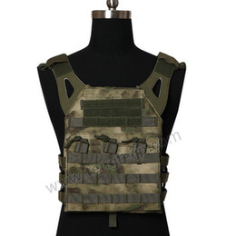 Discount tactical vest airsoft paintball - SINAIRSOFT Outdoor CS Tactical Vest Hunting Waistcoat 600D Plate Carrier Chest Rig JPC Vests Airsoft Paintball Gear Body