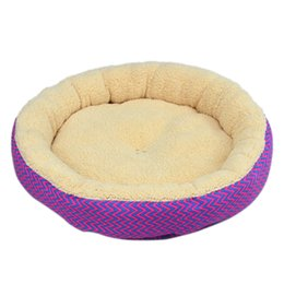 Discount pet house beds - Dog Bed Cat Puppy Basket Soft Breathable Mat Cushion Pet Dog Nest Sleeping Bed Kitten Houses Kennels Size S L Free Shipp