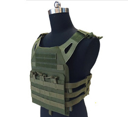 paintball equipment 2019 - Armor Tactical JPC Plate Carrier Vest Ammo Magazine Chest Rig for Wargame CS Outdoor Airsoft Paintball Gear Loading Bear