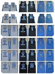 Stitched NCAA Jersey 2017 North Carolina Tar Heels College Basketball  Jersey 44 Justin 44 Justin Jackson ... 376a836b4