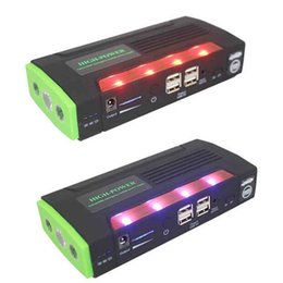 Power bank Portable car charger online shopping - Green Super mAh Car Jump Starter Auto Engine EPS Emergency Start Battery Source Laptop Portable Charger Mobile Power Bank