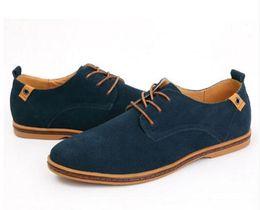 Mens Black Casual Dress Shoes Canada - men shoes 2017 new blue black leather fashion Casual mens italian dress shoe