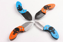 $enCountryForm.capitalKeyWord Canada - Newest Mantis Shootey Skull Pocket Folding Knife 440A G10 CNC LITTLE TINY Jack Tactical Camping Hunting Survival Knife Utility EDC Gift Tool