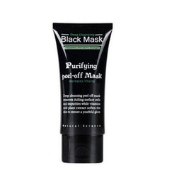 Barato Casca De Poro De Limpeza Profunda-2017 SHILLS Purifying Peel-off Mask Shills Deep Cleansing Black Shills Máscara para rosto Pore Cleaner 50ml Blackhead Facials Mask