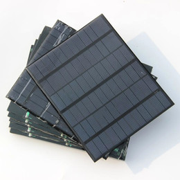 Battery Chargers For Cell Phones Canada - 18V 3.5Watt Mini Solar Cell Module Polycrystalline Solar Panel For 12V Battery Charger Free Shipping