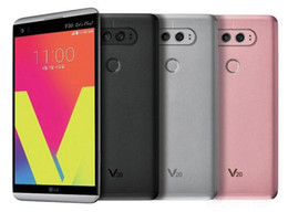 Android Mobile Phones Unlock Canada - Original LG V20 H910 H918 VS995 4GB 64GB 5.7 Inch Dual 16MP+8MP Camera Android OS 7.0 Refurbished Unlocked Mobile Phone