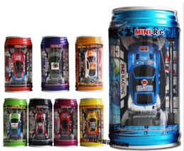 Remotes For Cars Canada - 1:63 Mini-Racer Remote Control Car Coke Can Mini Speed RC Radio Remote Control Micro Racing Car Christmas toy gifts for children