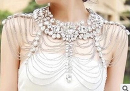 $enCountryForm.capitalKeyWord NZ - The new European hot shoulder chain wedding accessories jewelry crystal wedding dresses