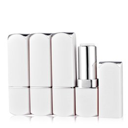 Chinese  Top Quality White Plastic Empty DIY Lip Balm Gloss Lips Packing Containers Lipstick Tube Lipsticks Cosmetic Subpackage 20pcs manufacturers