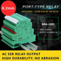 Module Relay Canada - MRA23D5 Ultra-slim AC SSR Output Interface Relay High Durability Industrial Relay Module With Input Control Voltage 3-32VDC