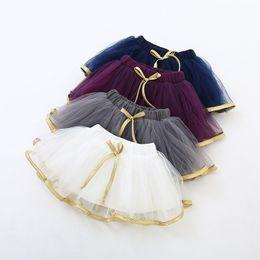 Discount korean summer clothing - Baby Korean Girls Tutu Dress 2017 New Summer Baby Girl Tulle Bow Skirt Princess Party Dress TuTu Dress Children's C