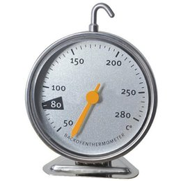 Oven Thermometer Steel NZ - Stainless Steel Oven Thermometers Kitchen Cooking Meat Tool Fast Shipping